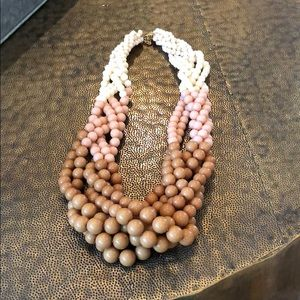 mint julep boutique Jewelry - NWOT Ombré Beaded Rope Necklace
